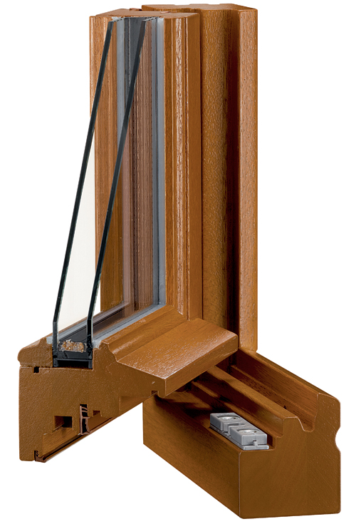 Fenetres bois tb 67 tradition performance et double for Changer un carreau de fenetre