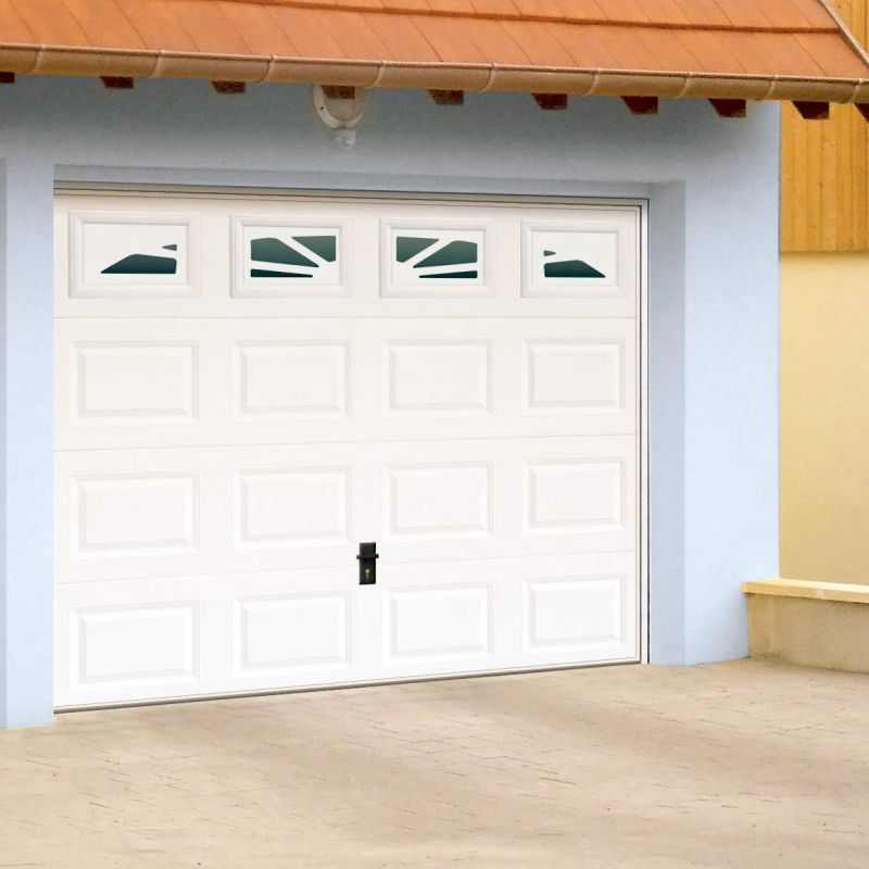 Porte de garage sectionnelle verticale alu pgs evolution fen tre pvc martigues fenetre pvc for Porte de garage battant alu