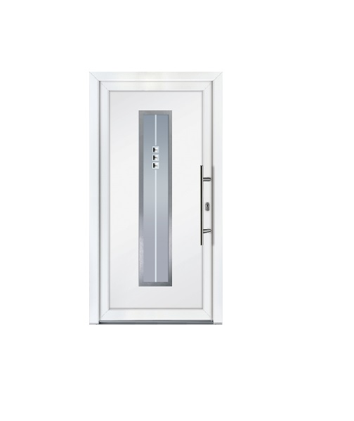 Porte d 39 entr e pvc mod le new york fen tre pvc for Fenetre new york